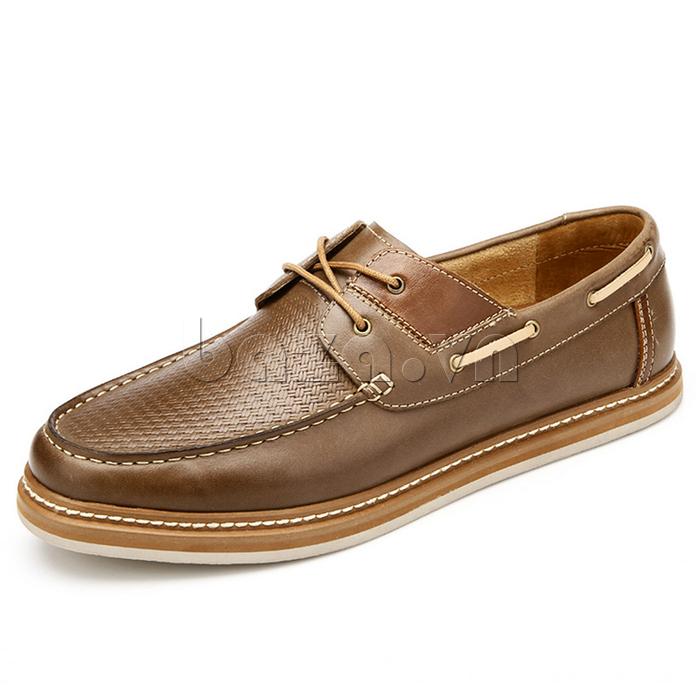 giày OlunpoCXYF1301 màu kaki ấn tượng và tươi mới