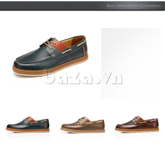 vẻ đẹp tinh tế và thời trang khó cưỡng lại của giày OlunpoCXYF1301 với 3 màu sắc khác nhau