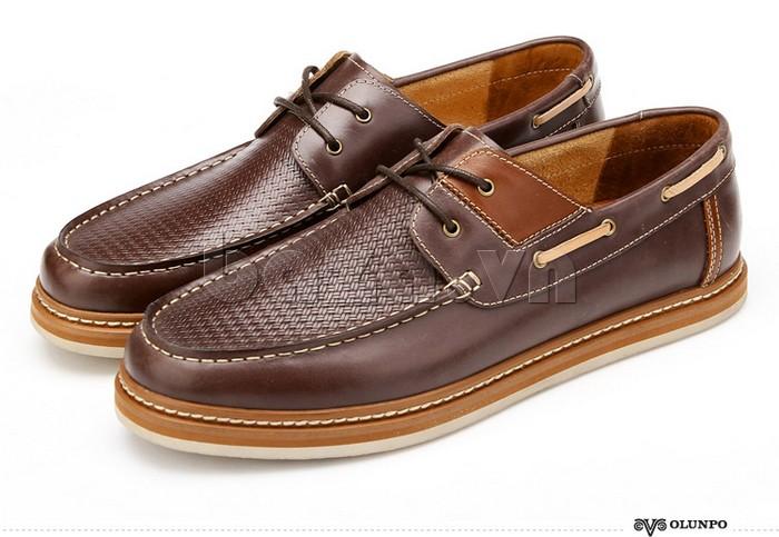 vẻ đẹp lịch lãm, đẳng cấp của giày OlunpoCXYF1301 giúp bạn tự tin hơn