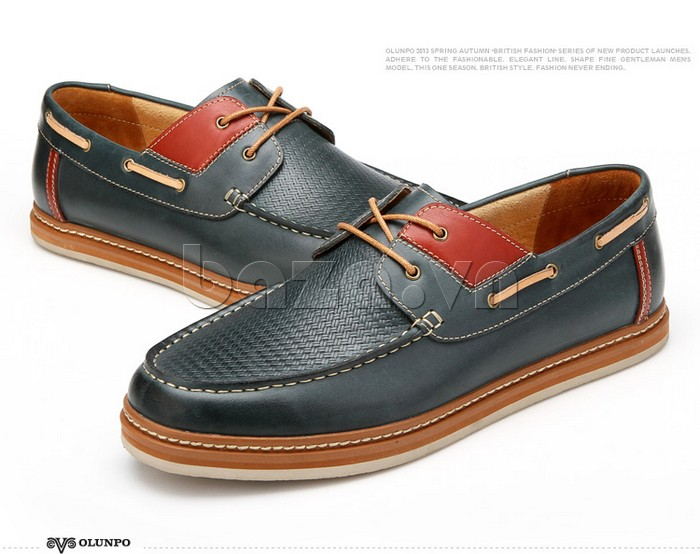 giày OlunpoCXYF1301 chứa đựng vẻ đẹp quyến rũ của nam giới