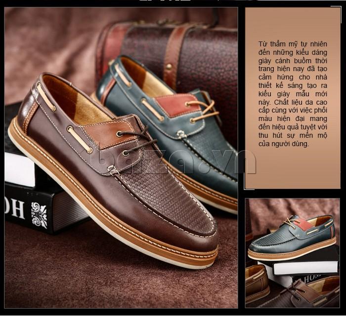 giày OlunpoCXYF1301 tạo cảm hứng thời trang cho nhiều nhà thiết kế đưa ra những mẫu giày độc đáo hơn