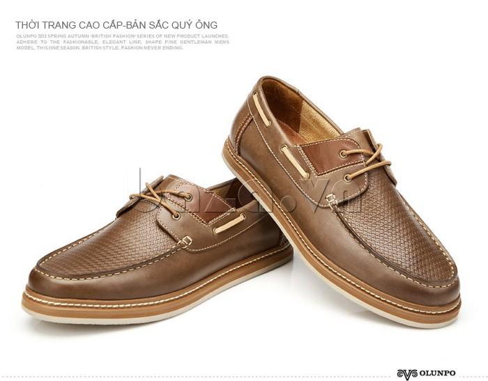 giày OlunpoCXYF1301 thể hiện bản sắc quý ông
