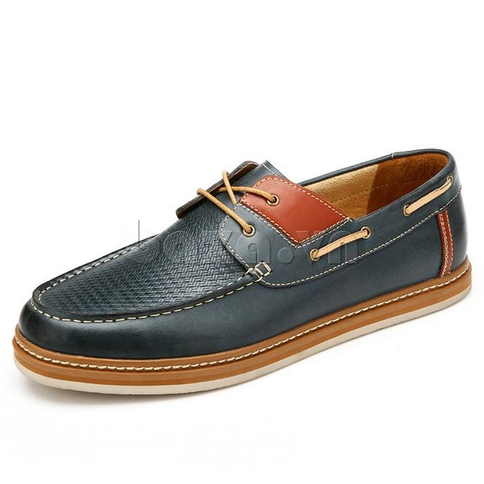 giày OlunpoCXYF1301 ấn tượng với kiểu dáng giày lười không cần đi tất