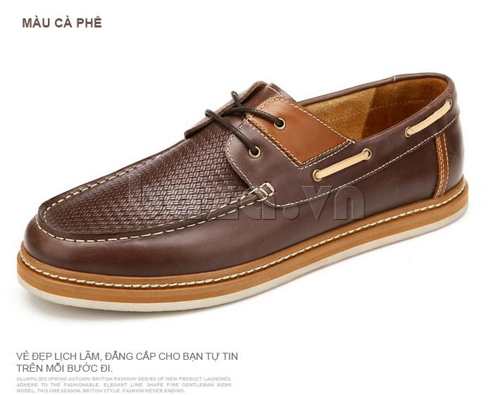 giày OlunpoCXYF1301 giúp bạn lịch lãm và tự tin trong từng bước đi