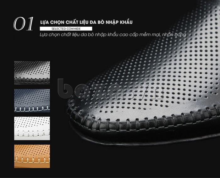 Giày nam Olunpo XCY1503  độc