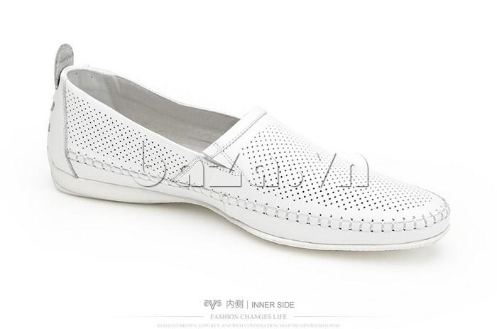 Giày nam Olunpo XCY1503 màu trắng