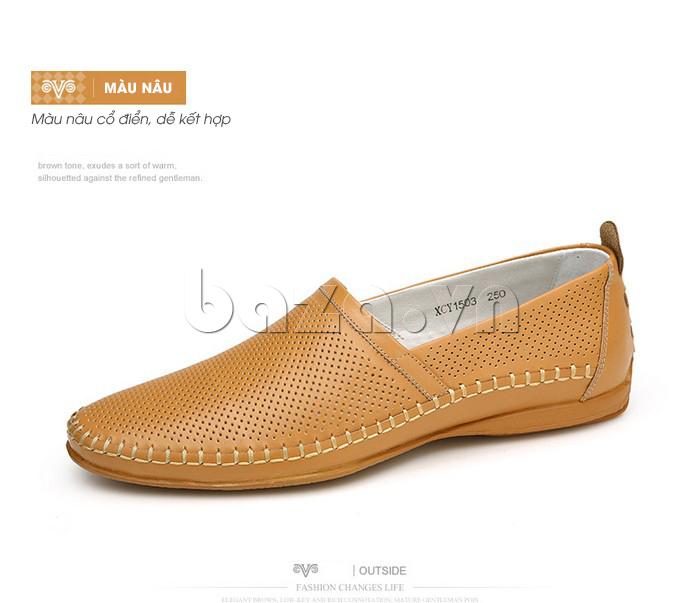 Giày nam Olunpo XCY1503 nâu