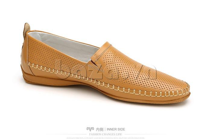 Giày nam Olunpo XCY1503 màu nâu