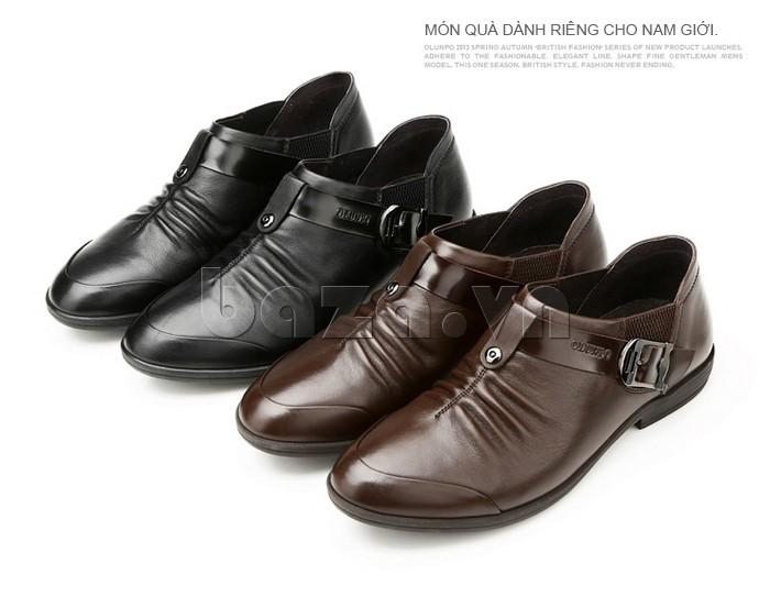Giày da nam Olunpo - Món quà dành riêng cho nam giới
