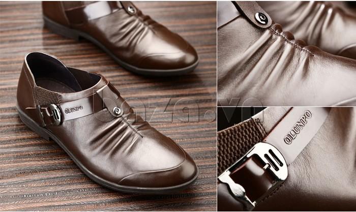 Thiết kế giày lười dễ dàng xỏ và đi