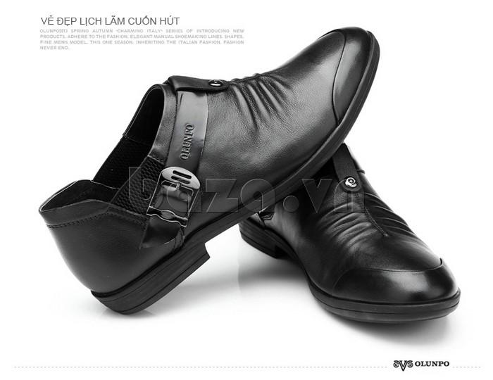 Giày nam Olunpo lịch lãm cuốn hút