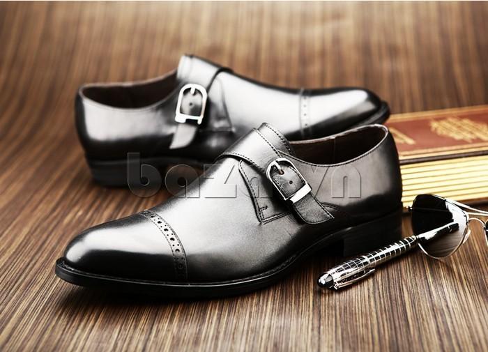 giày nam Olunpo QLXS1305 thể hiện đẳng cấp doanh nhân thành đạt cho bạn