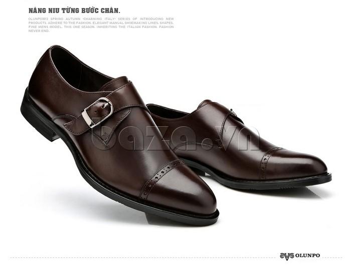 nâng niu từng bước chân với giày nam Olunpo QLXS1305