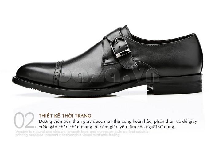 giày nam Olunpo QLXS1305 thiết kế thời trang phù hợp với nhiều lứa tuổi