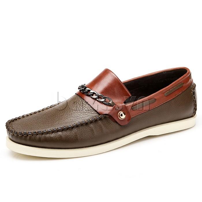 giày nam Olunpo CLXS1221 ấn tượng với phối mầu độc đáo trẻ trung