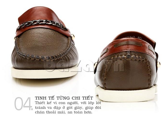 giày nam Olunpo CLXS1221 tinh tế đến từng chi tiết