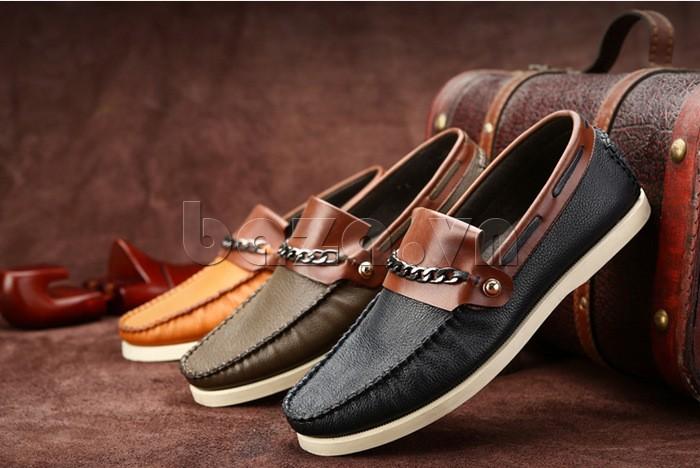 giày nam Olunpo CLXS1221 có nhiều màu sắc dễ phối đồ