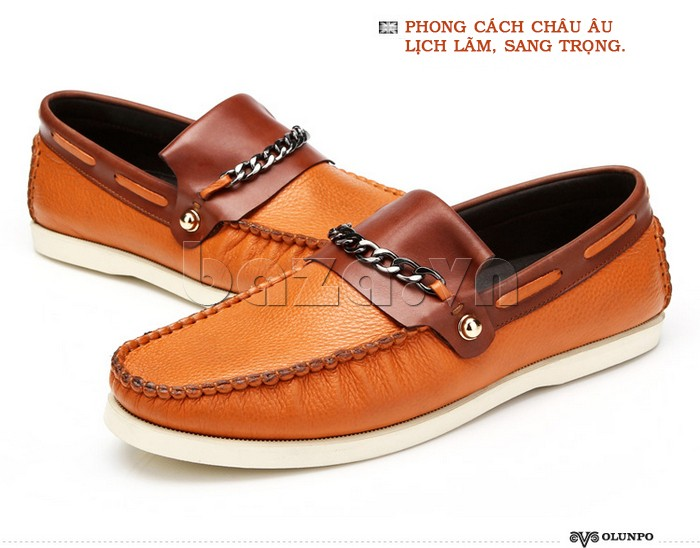 giày nam Olunpo CLXS1221 phong cách lịch lãm sang trọng