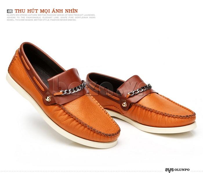 giày nam Olunpo CLXS1221 giúp nam giới thu hút mọi ánh nhìn