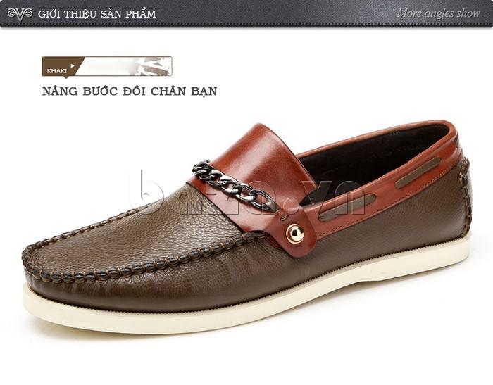 giày nam Olunpo CLXS1221 nâng bước đôi chân tiến tới thành công