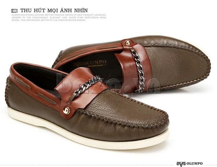 giày nam Olunpo CLXS1221 giúp nam giới thể hiện bản lĩnh tự tin của mình