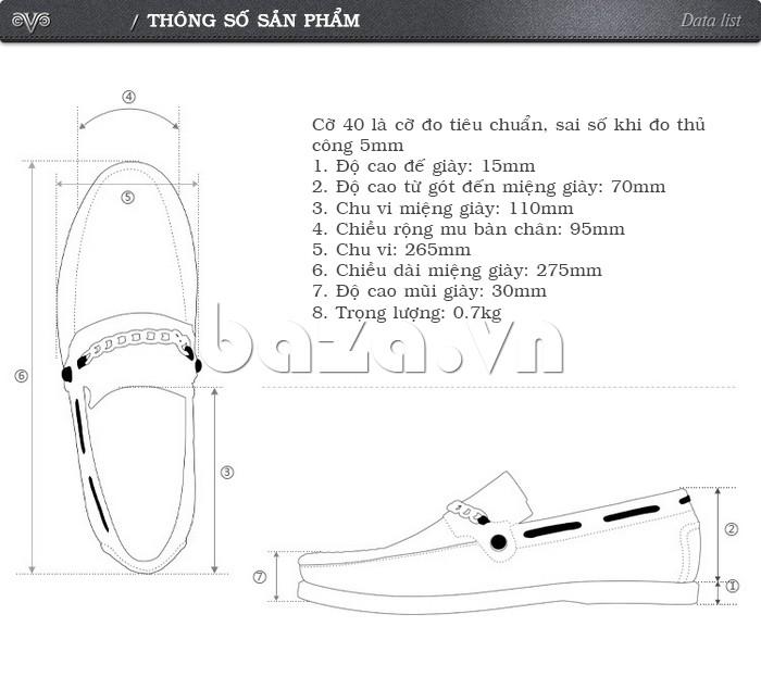 Thông tin sản phẩm của giày nam Olunpo