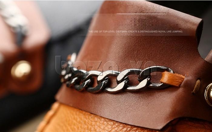 giày nam Olunpo CLXS1221 dây xích không bị hoen gỉ
