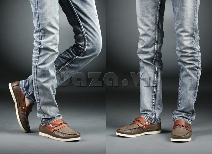 giày nam Olunpo CLXS1221 tạo phong cách trẻ trung cho nam giới