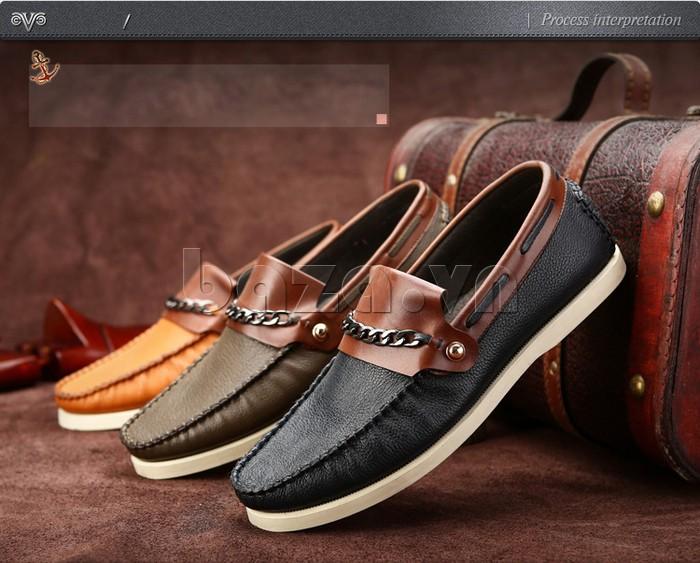 giày nam Olunpo CLXS1221 nâng niu bàn chân