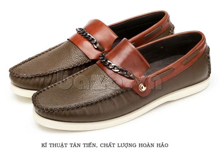 giày nam Olunpo CLXS1221 tự tin hơn trên mọi nẻo đường