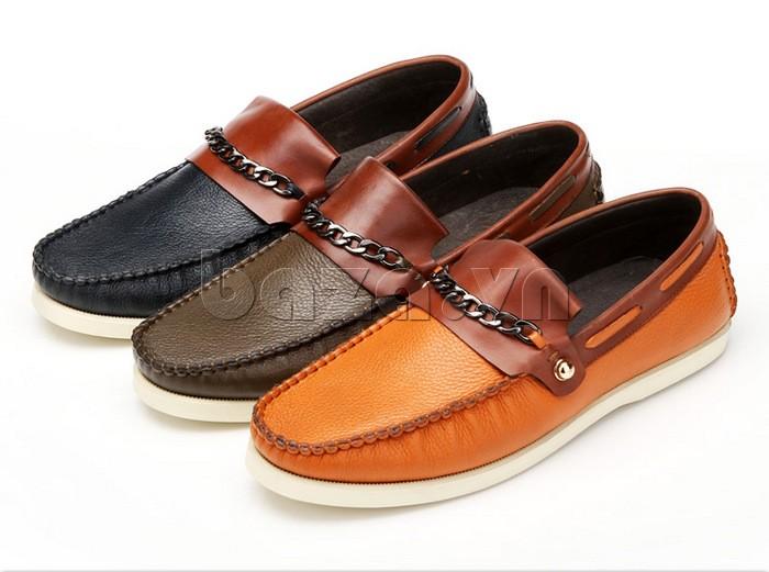 giày nam Olunpo CLXS1221 có ba màu sắc để bạn lựa chọn