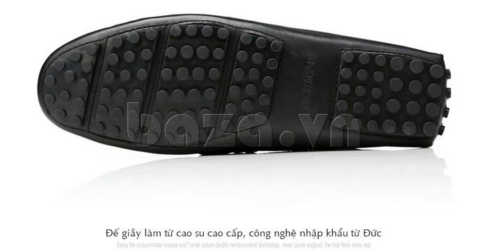 Giầy lười nam Olunpo CHY1402 đế giày làm từ cao su cao cấp
