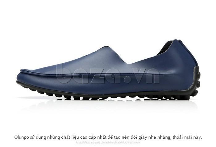 Chất liệu cao cấp làm nên đôi giày da hoàn hảo