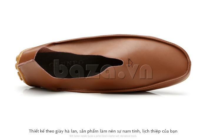 Thiết kế theo kiểu giày nam Hà Lan cho bạn vẻ đẹp nam tính, lịch thiệp
