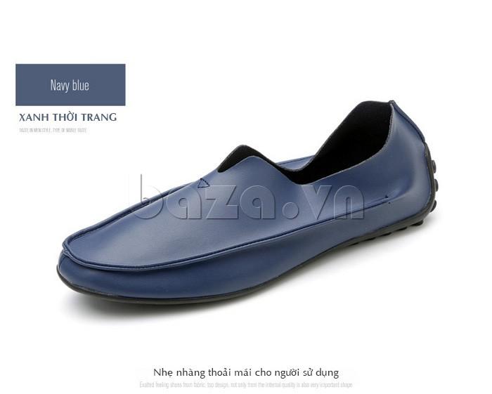 Dòng giày nam phiên bản màu xanh