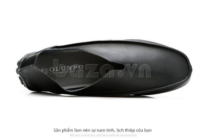 Giày nam Olunpo cho bạn thêm nam tính, lịch thiệp