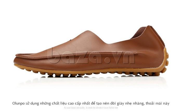 Vẻ đẹp hoàn hảo từ đôi giày da nam Olunpo