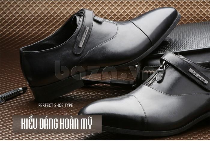 giày Olumpo QLXS1217 kiểu dáng hoàn mỹ, độc đáo