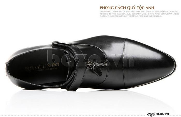 giày Olumpo QLXS1217 mang phong cách quý tộc Anh