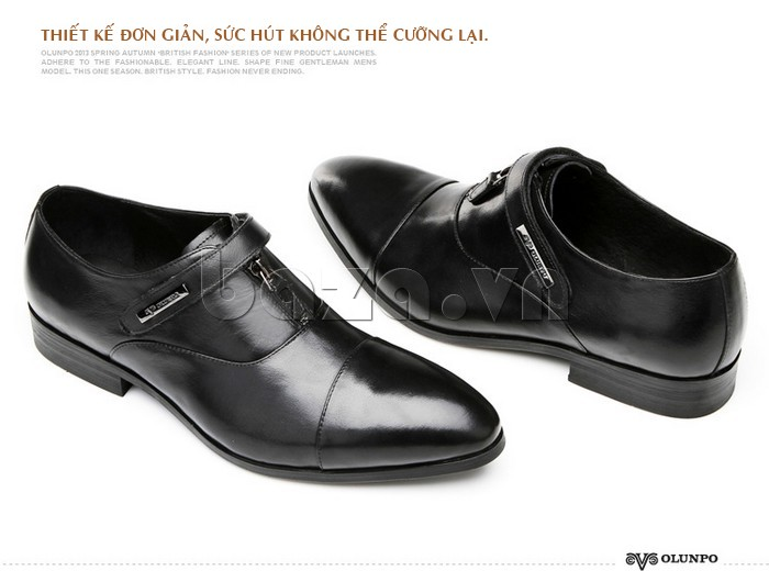 giày Olumpo QLXS1217 được thiết kế đơn giản, sức hút không thể chối bỏ