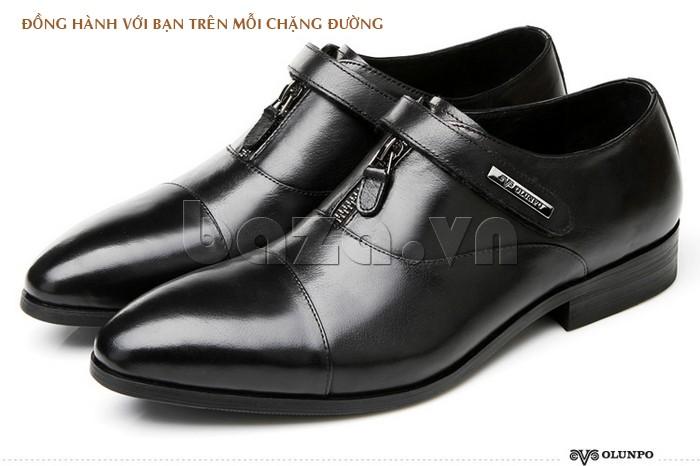 giày Olumpo QLXS1217 đồng hành cùng bạn trên mỗi chặng đường