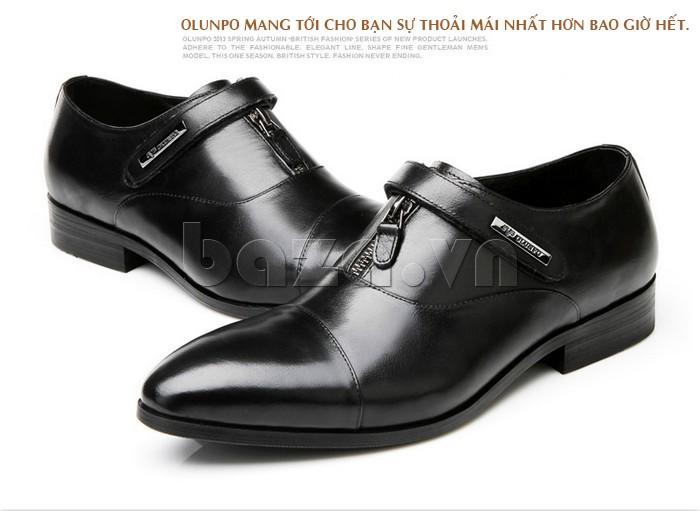 giày Olumpo QLXS1217 giúp bạn thoải mái hơn bao giơ hết