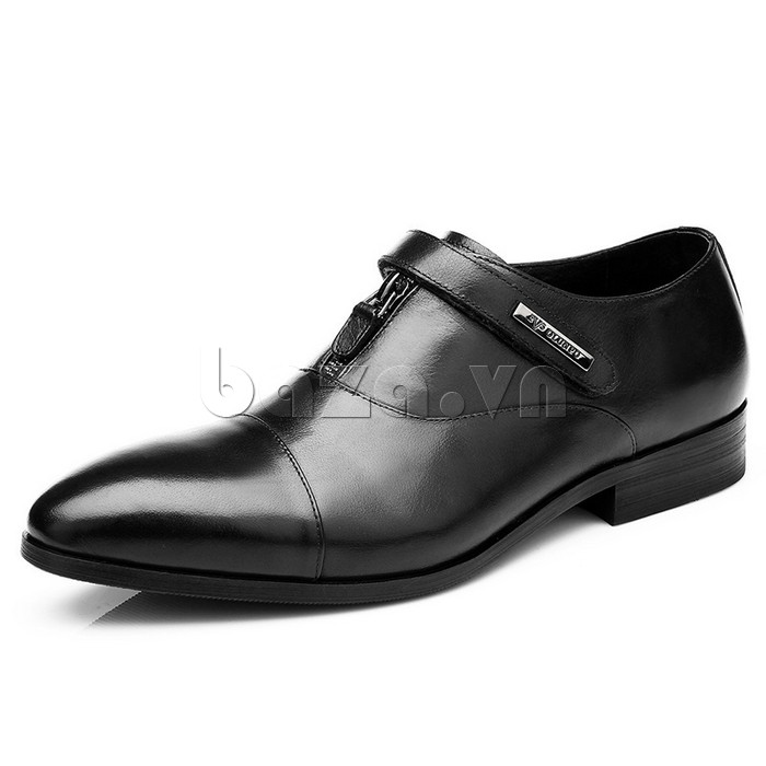 giày Olumpo QLXS1217 màu đen sang trọng, thành đạt