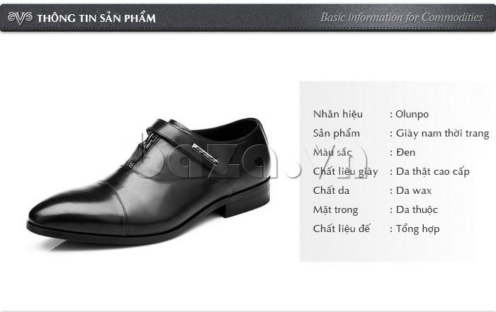 thông tin cụ thể của giày Olumpo QLXS1217