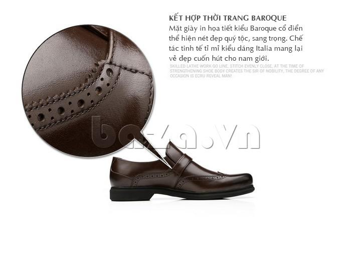 Thiết kế giày mang phong cách Baroque