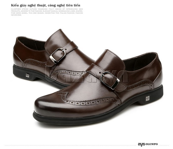 Kiểu giày da nghệ thuật, công nghệ tiên tiến