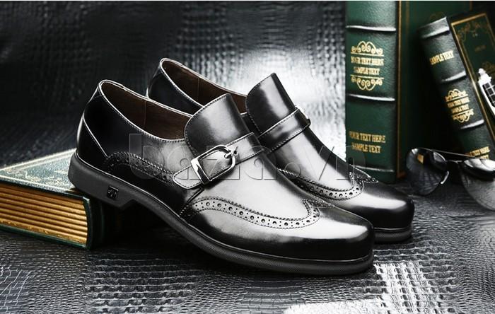 Giầy da nam thời trang Olunpo QLXS1304 kiểu dáng giày lười