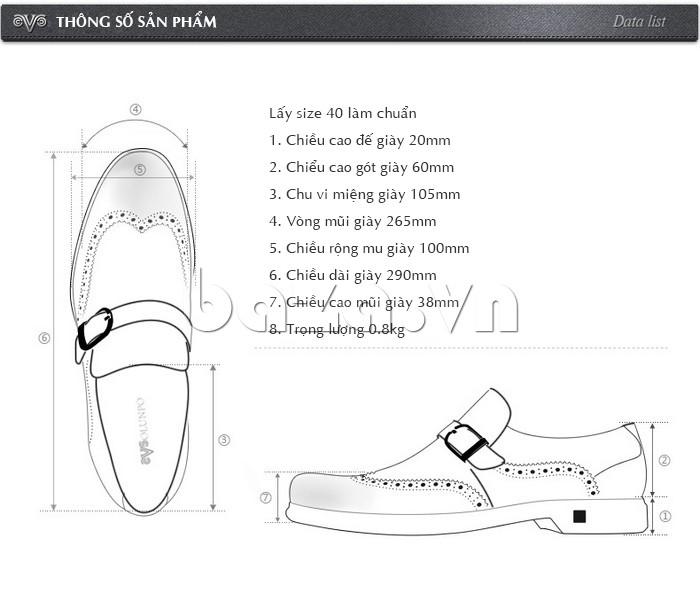 Giầy da nam thời trang Olunpo QLXS1304 - Giày nam cao cấp