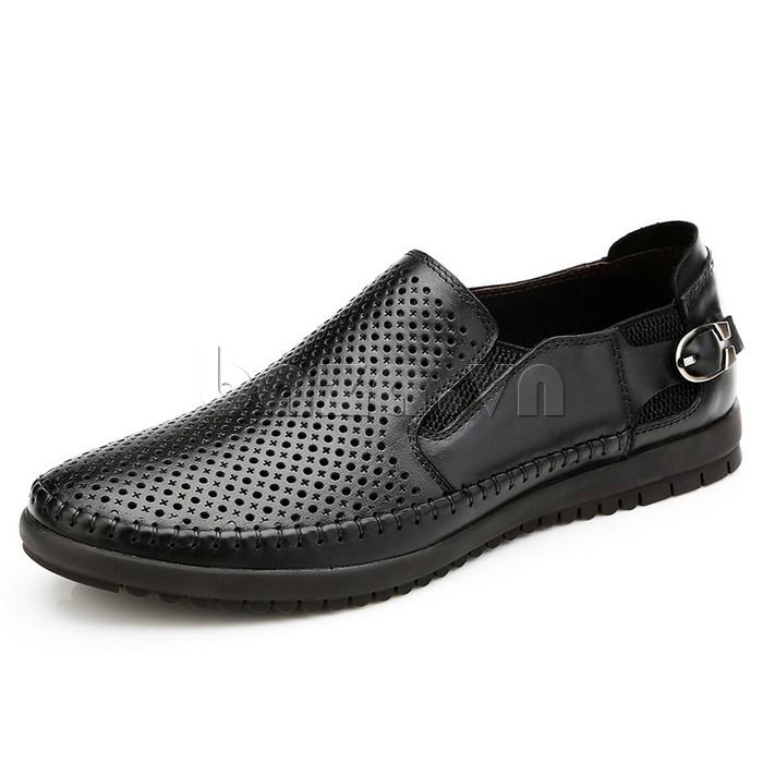 Giày Olunpo OP001 giày lười trẻ trung tinh tế giúp chân thoải mái