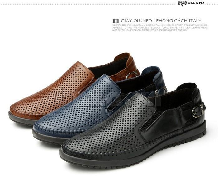 Giày Olunpo OP001 có thể dùng đi biển